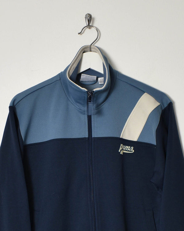 Puma Tracksuit Top - X-Small - Domno Vintage 90s, 80s, 00s Retro and Vintage Clothing
