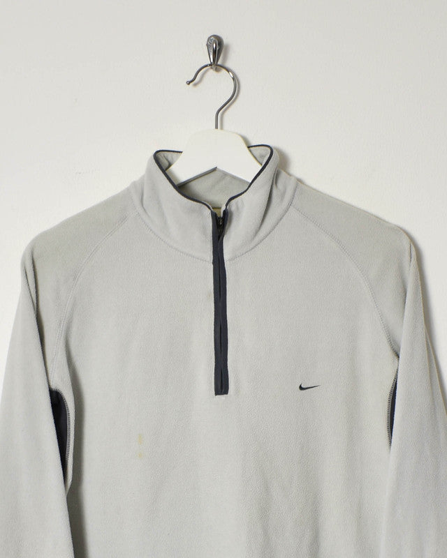 Nike 1/4 Zip Fleece - Small - Domno Vintage 90s, 80s, 00s Retro and Vintage Clothing