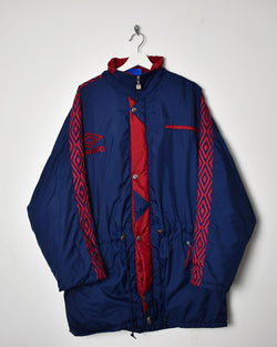 Umbro Coat - Large - Domno Vintage 90s, 80s, 00s Retro and Vintage Clothing