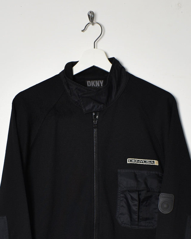 DKNY Tracksuit Top - Medium - Domno Vintage 90s, 80s, 00s Retro and Vintage Clothing