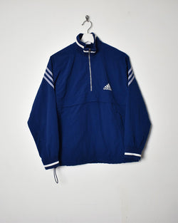 Adidas 1/4 Zip Jacket - Small - Domno Vintage 90s, 80s, 00s Retro and Vintage Clothing
