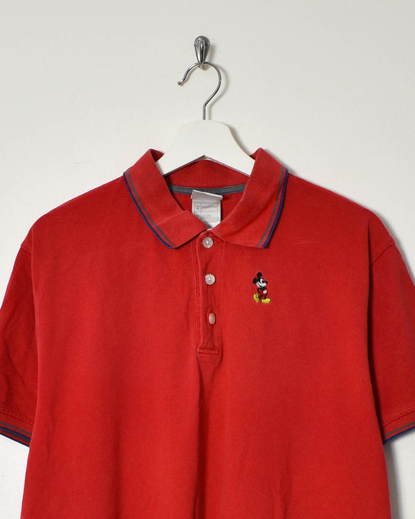 Disney Polo - Large - Domno Vintage 90s, 80s, 00s Retro and Vintage Clothing