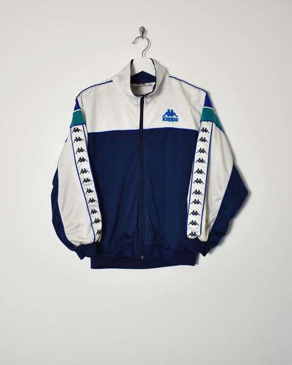 Kappa Tracksuit Top - X-Small - Domno Vintage 90s, 80s, 00s Retro and Vintage Clothing