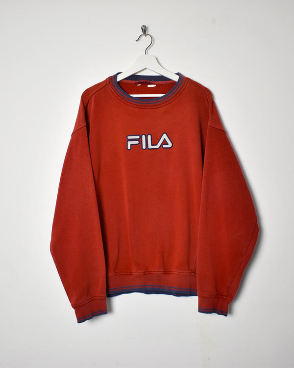 Fila Sweatshirt - X-Large
