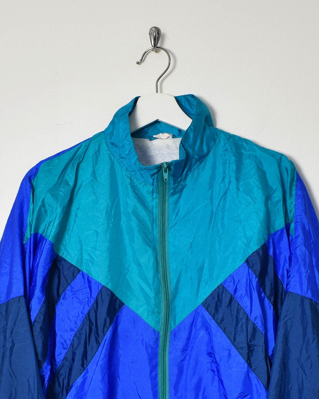 Vintage 90s Shell Jacket - Small - Domno Vintage 90s, 80s, 00s Retro and Vintage Clothing