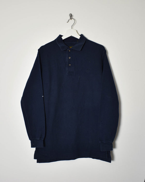 Timberland Long Sleeve Polo Shirt - Small