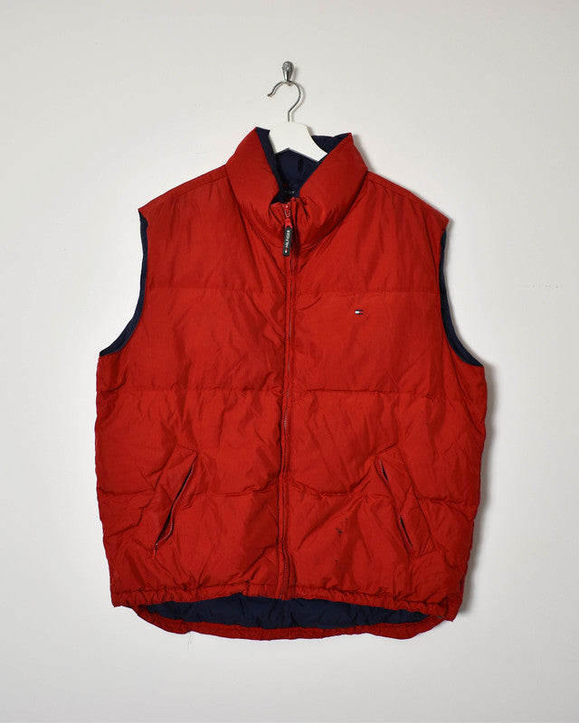 Tommy Hilfiger Gilet - X-Large - Domno Vintage 90s, 80s, 00s Retro and Vintage Clothing