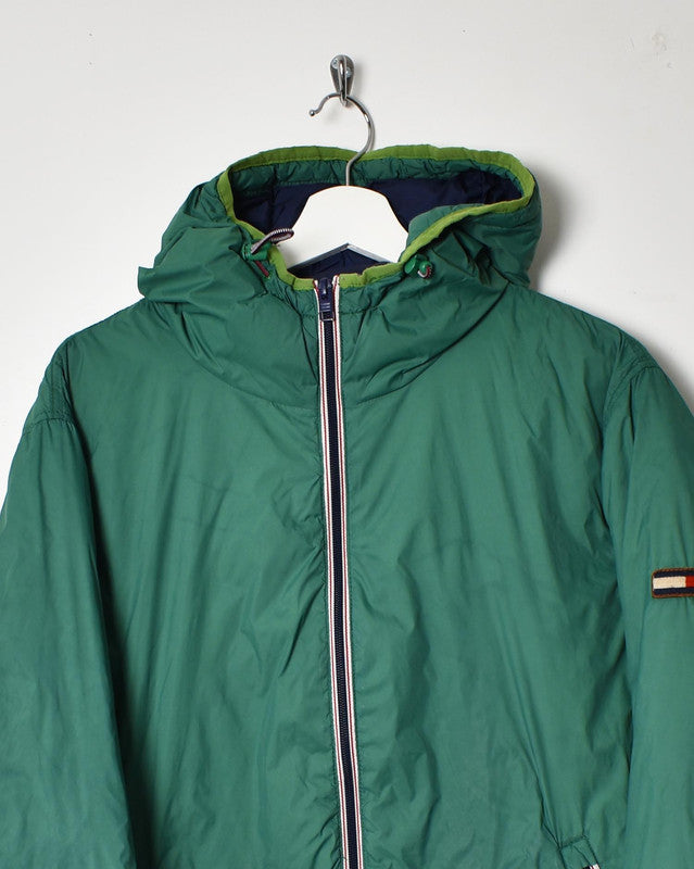 Tommy Hilfiger Puffer Jacket - Medium - Domno Vintage 90s, 80s, 00s Retro and Vintage Clothing