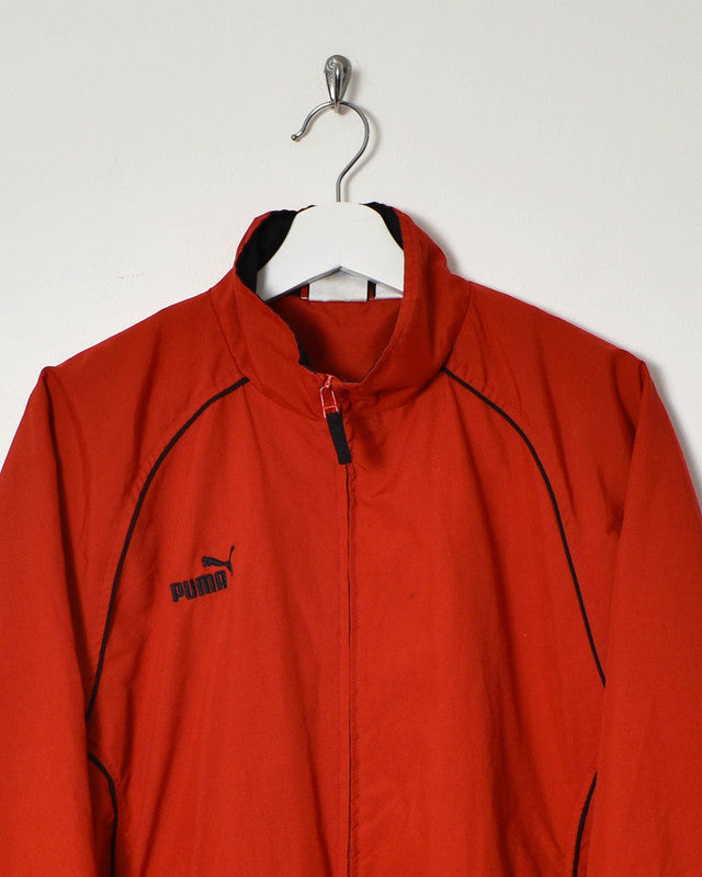 Puma Track Jacket - Medium - Domno Vintage 90s, 80s, 00s Retro and Vintage Clothing