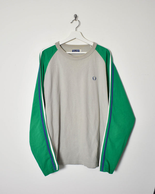 Fred Perry Long Sleeve T-Shirt - X-Large
