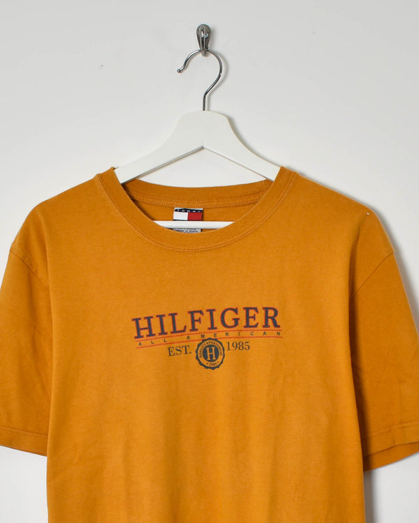 Tommy Hilfiger T-Shirt - Medium - Domno Vintage 90s, 80s, 00s Retro and Vintage Clothing