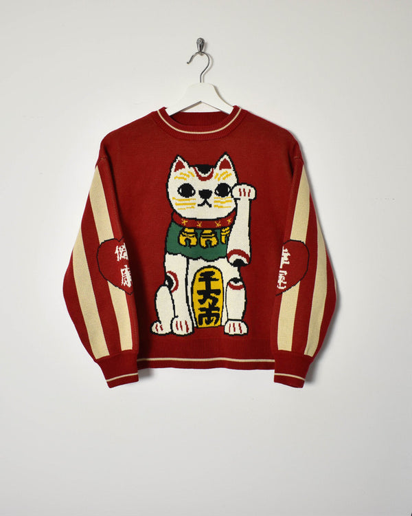 Tyakasha The Lucky Cat Sweatshirt - Small