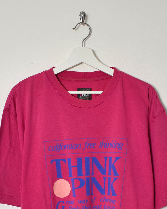 Think Pink T-Shirt - X-Large