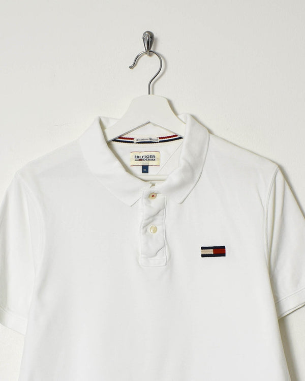 Tommy Hilfiger Polo Shirt - Large - Domno Vintage 90s, 80s, 00s Retro and Vintage Clothing