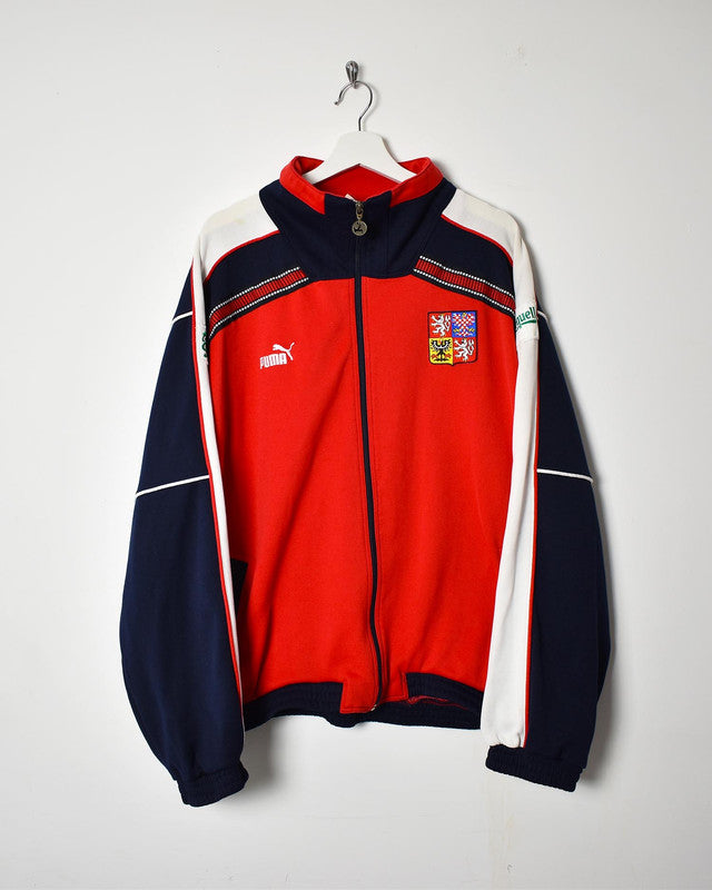 Puma Tracksuit Top - XX-Large - Domno Vintage 90s, 80s, 00s Retro and Vintage Clothing