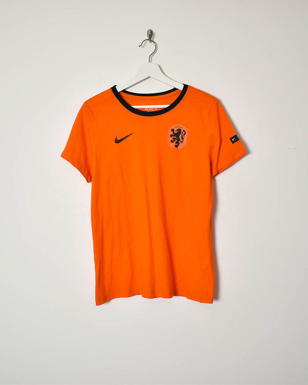Nike Women's Netherlands T-Shirt - Medium - Domno Vintage 90s, 80s, 00s Retro and Vintage Clothing