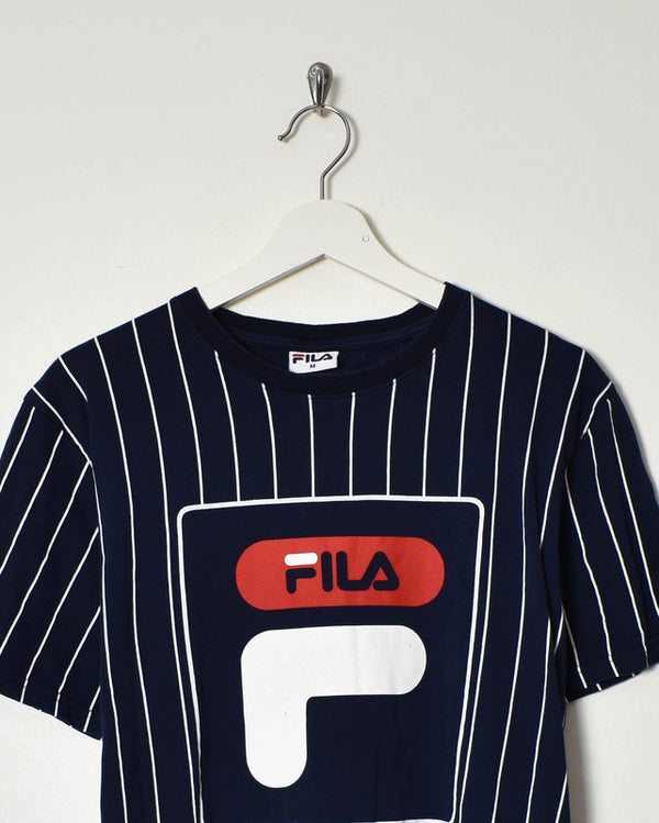 Fila T-Shirt - Medium - Domno Vintage 90s, 80s, 00s Retro and Vintage Clothing