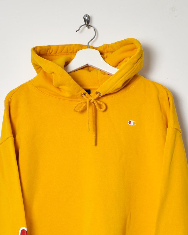 Champion Cropped Hoodie - X-Large - Domno Vintage 90s, 80s, 00s Retro and Vintage Clothing