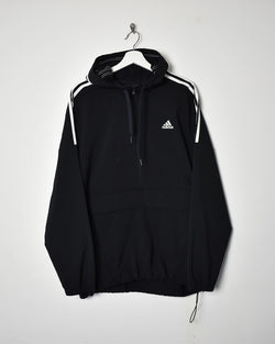 Adidas 1/4 Zip Jacket - Large - Domno Vintage 90s, 80s, 00s Retro and Vintage Clothing
