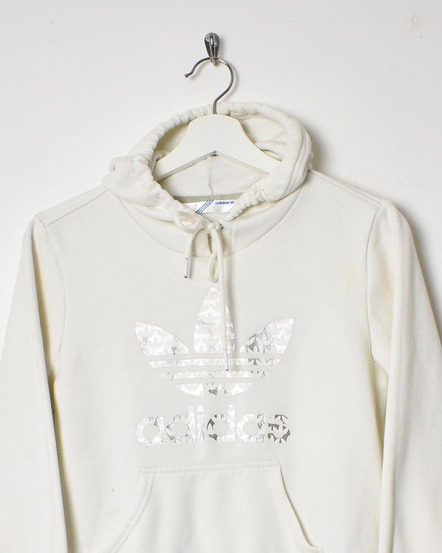 Adidas Women's Hoodie - Small - Domno Vintage 90s, 80s, 00s Retro and Vintage Clothing