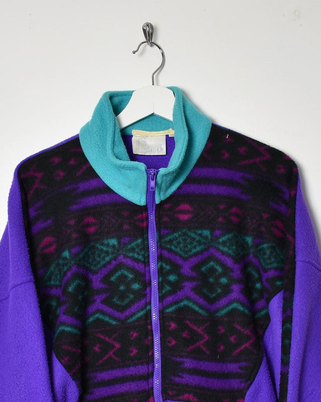 Vintage 90s Fleece - Large - Domno Vintage 90s, 80s, 00s Retro and Vintage Clothing