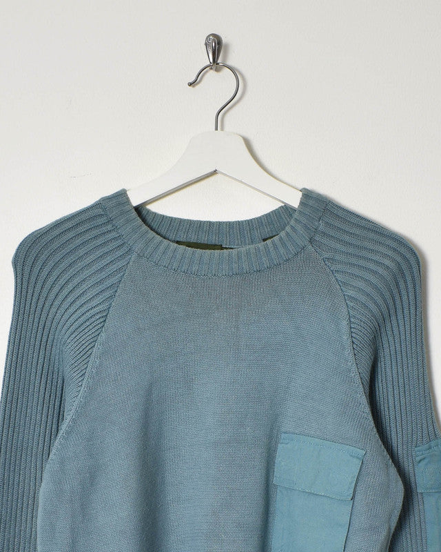 Timberland Knitwear Sweatshirt - Medium - Domno Vintage 90s, 80s, 00s Retro and Vintage Clothing