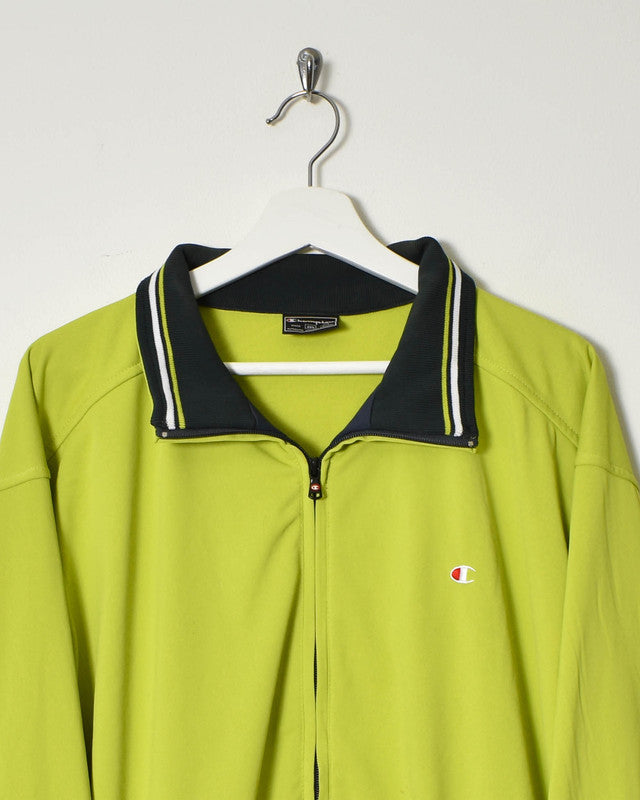Champion Tracksuit Top - XX-Large - Domno Vintage 90s, 80s, 00s Retro and Vintage Clothing