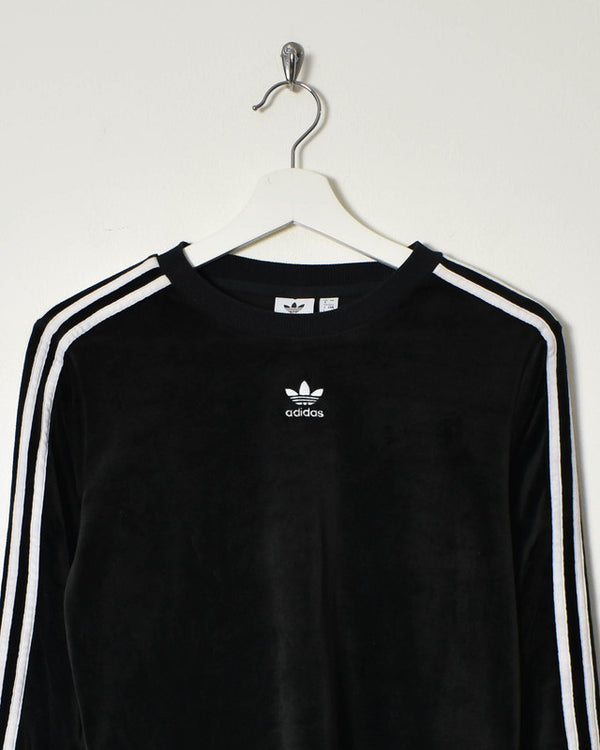 Adidas Women's Velour Sweatshirt - Small