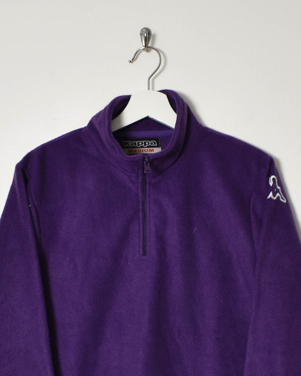 Kappa Women's 1/4 Zip Fleece - Medium