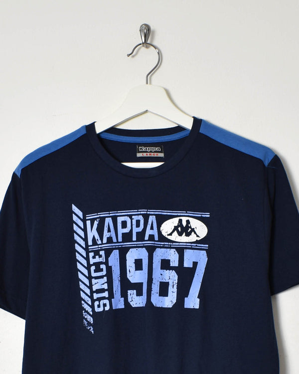 Kappa T-Shirt - Large - Domno Vintage 90s, 80s, 00s Retro and Vintage Clothing