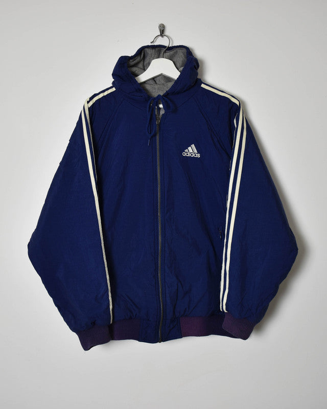 Adidas Reversible Jacket - Large - Domno Vintage 90s, 80s, 00s Retro and Vintage Clothing