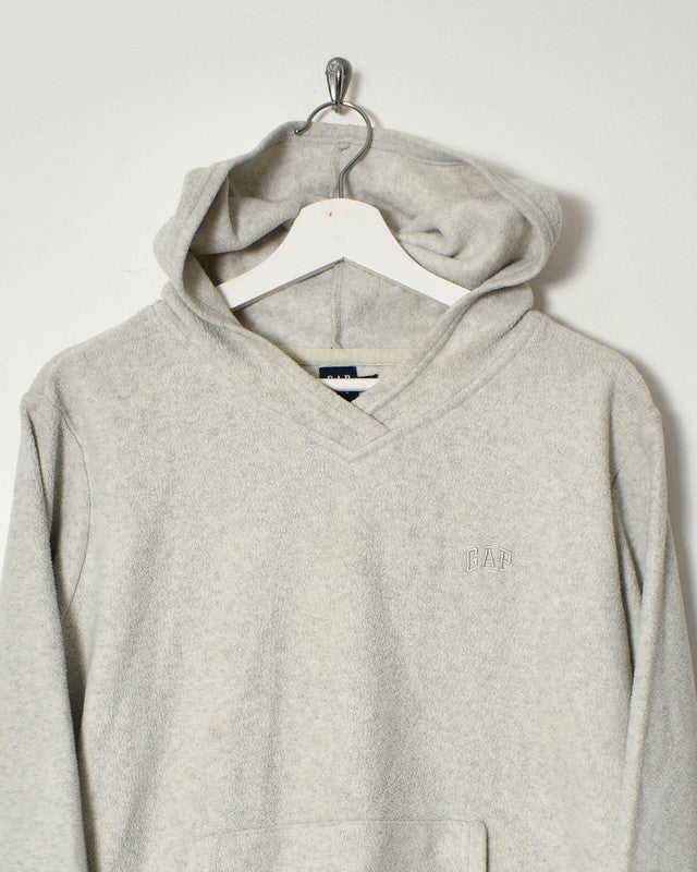 Gap Fleece Hoodie - Small - Domno Vintage 90s, 80s, 00s Retro and Vintage Clothing