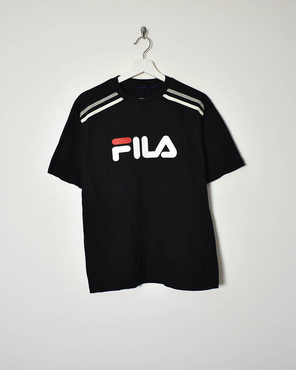 Fila T-Shirt - Small - Domno Vintage 90s, 80s, 00s Retro and Vintage Clothing