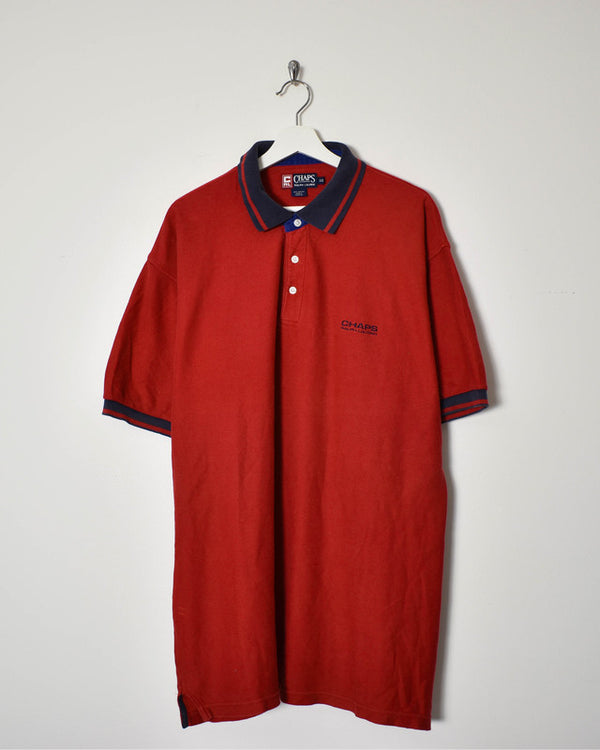 Ralph Lauren Chaps Polo Shirt - XX-Large - Domno Vintage 90s, 80s, 00s Retro and Vintage Clothing