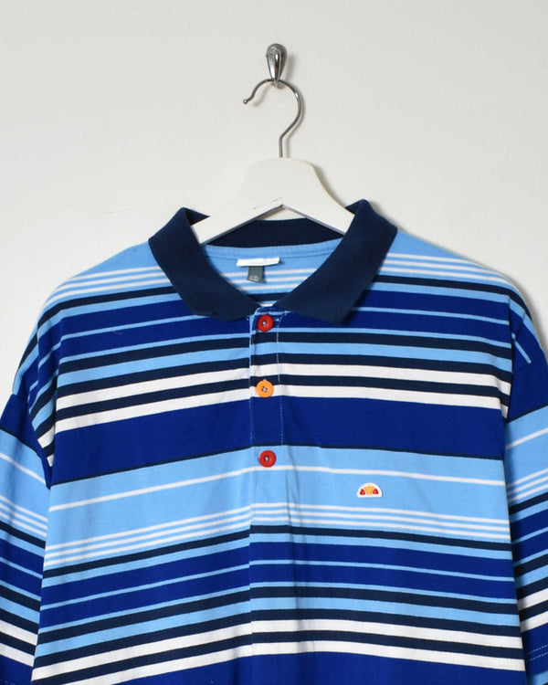 Ellesse Polo Shirt - XX-Large - Domno Vintage 90s, 80s, 00s Retro and Vintage Clothing