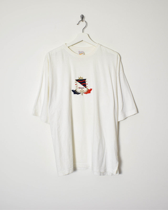 Vintage T-Shirt - X-Large - Domno Vintage 90s, 80s, 00s Retro and Vintage Clothing