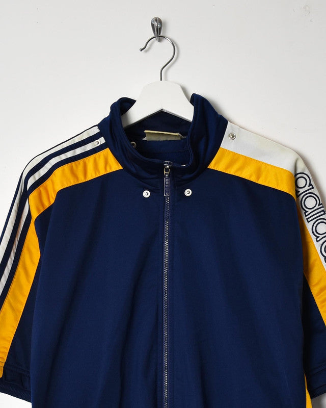Adidas Short Sleeve Tracksuit Top - Large - Domno Vintage 90s, 80s, 00s Retro and Vintage Clothing