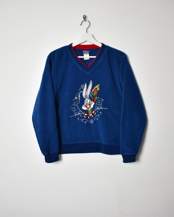 Disney Fleece - Small - Domno Vintage 90s, 80s, 00s Retro and Vintage Clothing