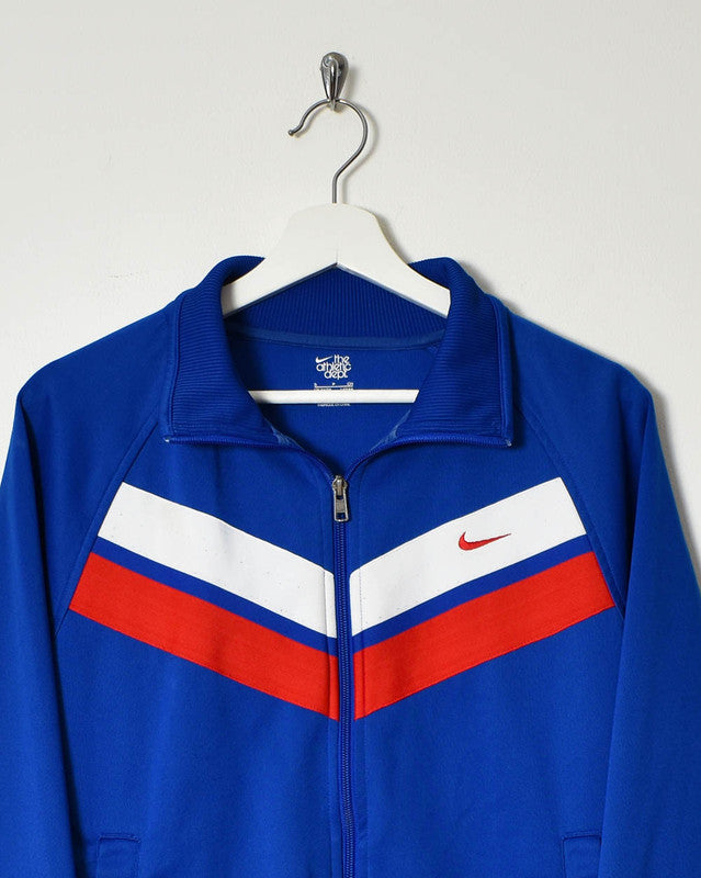 Nike Tracksuit Top - Small - Domno Vintage 90s, 80s, 00s Retro and Vintage Clothing