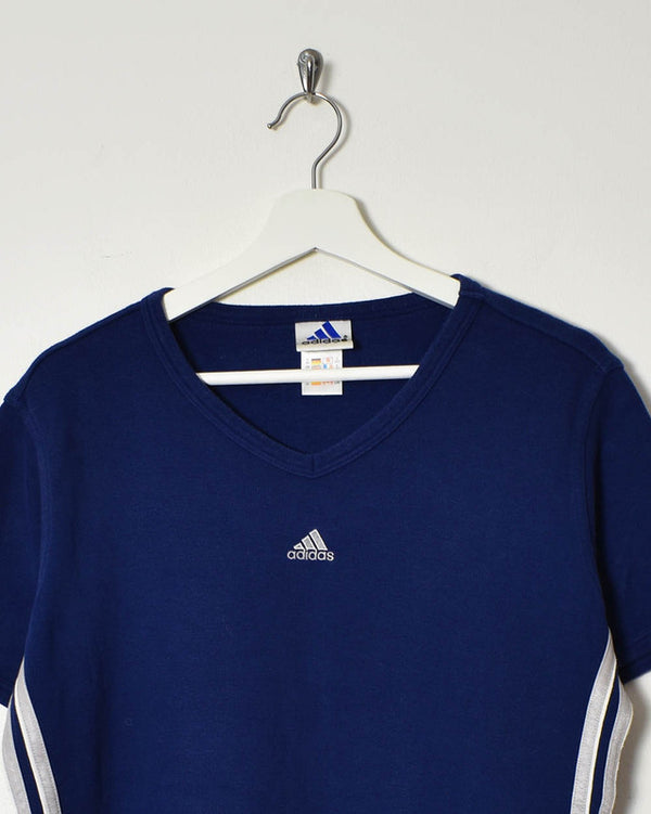 Adidas Women's T-Shirt - Large - Domno Vintage 90s, 80s, 00s Retro and Vintage Clothing
