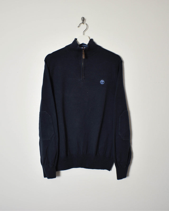 Timberland 1/4 Zip Sweatshirt - Medium - Domno Vintage 90s, 80s, 00s Retro and Vintage Clothing
