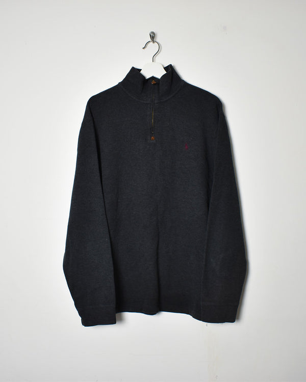 Ralph Lauren 1/4 Zip Sweatshirt - Large