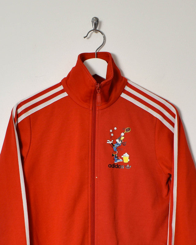 Adidas Women's Tracksuit Top - Small - Domno Vintage 90s, 80s, 00s Retro and Vintage Clothing
