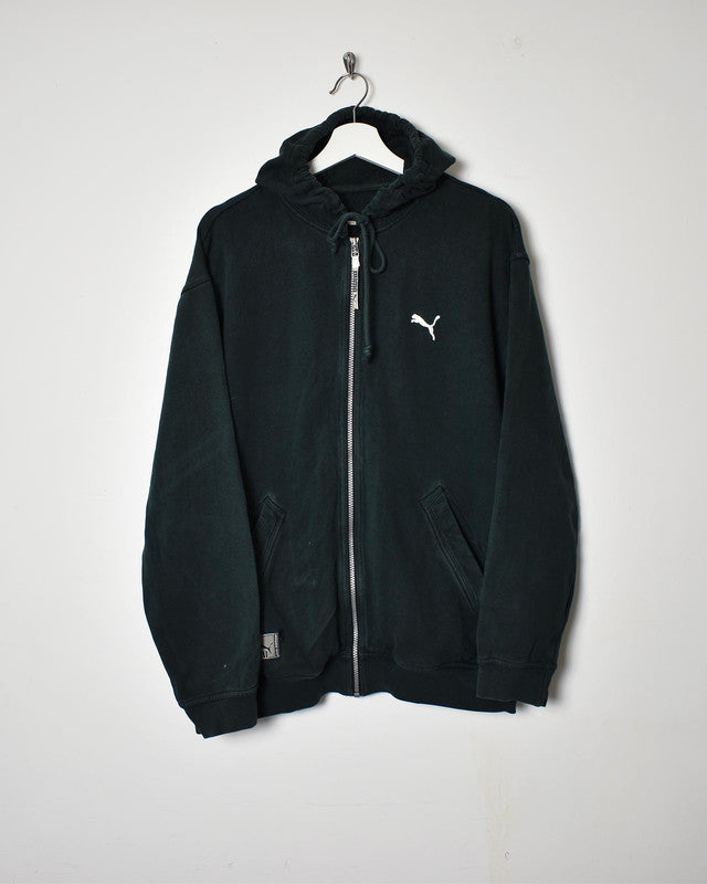 Puma Hoodie - Medium - Domno Vintage 90s, 80s, 00s Retro and Vintage Clothing
