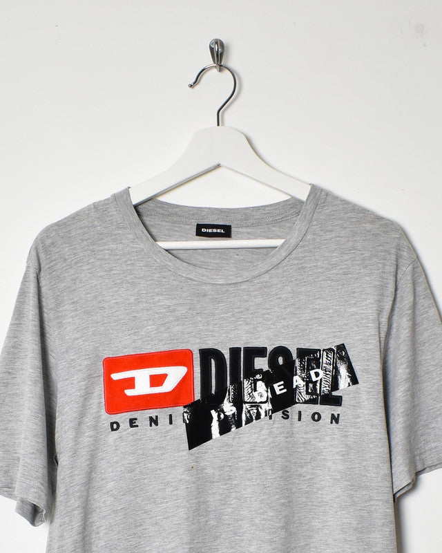 Diesel T-Shirt - Medium - Domno Vintage 90s, 80s, 00s Retro and Vintage Clothing