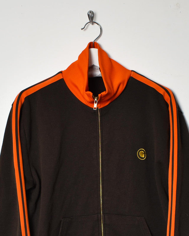 Carhartt Tracksuit Top - Medium - Domno Vintage 90s, 80s, 00s Retro and Vintage Clothing