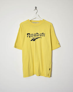 Reebok T-Shirt - X-Large - Domno Vintage 90s, 80s, 00s Retro and Vintage Clothing