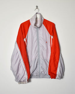 Malboro Shell Jacket - Large - Domno Vintage 90s, 80s, 00s Retro and Vintage Clothing