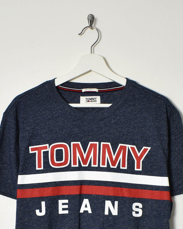 Tommy Hilfiger T-Shirt - Large - Domno Vintage 90s, 80s, 00s Retro and Vintage Clothing
