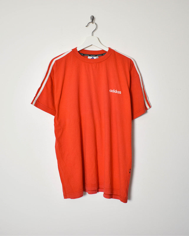 Adidas T-Shirt - X-Large - Domno Vintage 90s, 80s, 00s Retro and Vintage Clothing